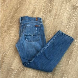 7 for all of mankind skinny boyfriend jeans